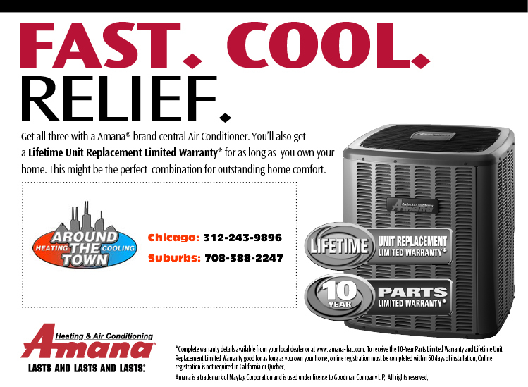 Air Conditioning Repair Pilsen/Little Village: 60608, 60616