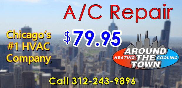A/C repair ad - $79.95