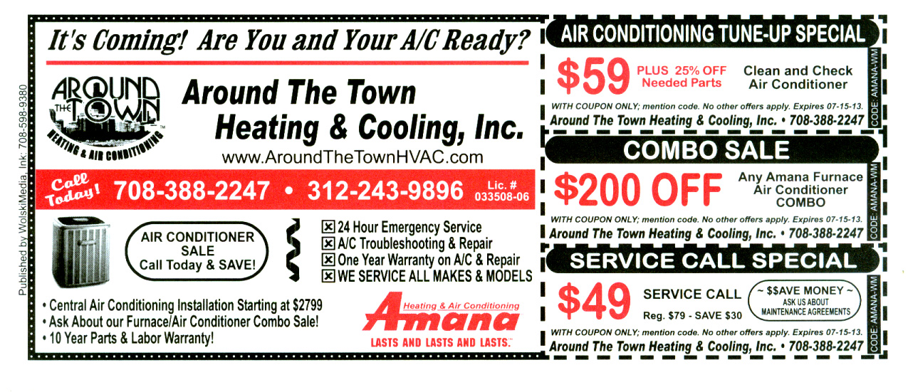 Central Air Conditioning Sales Around The Town Hvac